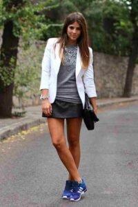 Mini Faldas de cuero precio